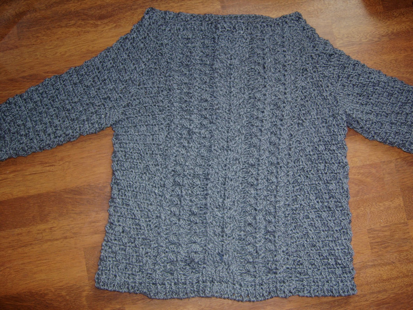 Crocheting Cables : Lancashire Knitter: Crochet Cable Sweater