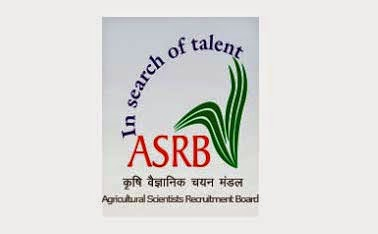 ASRB competitive examination for ICAR  Officer recruitment