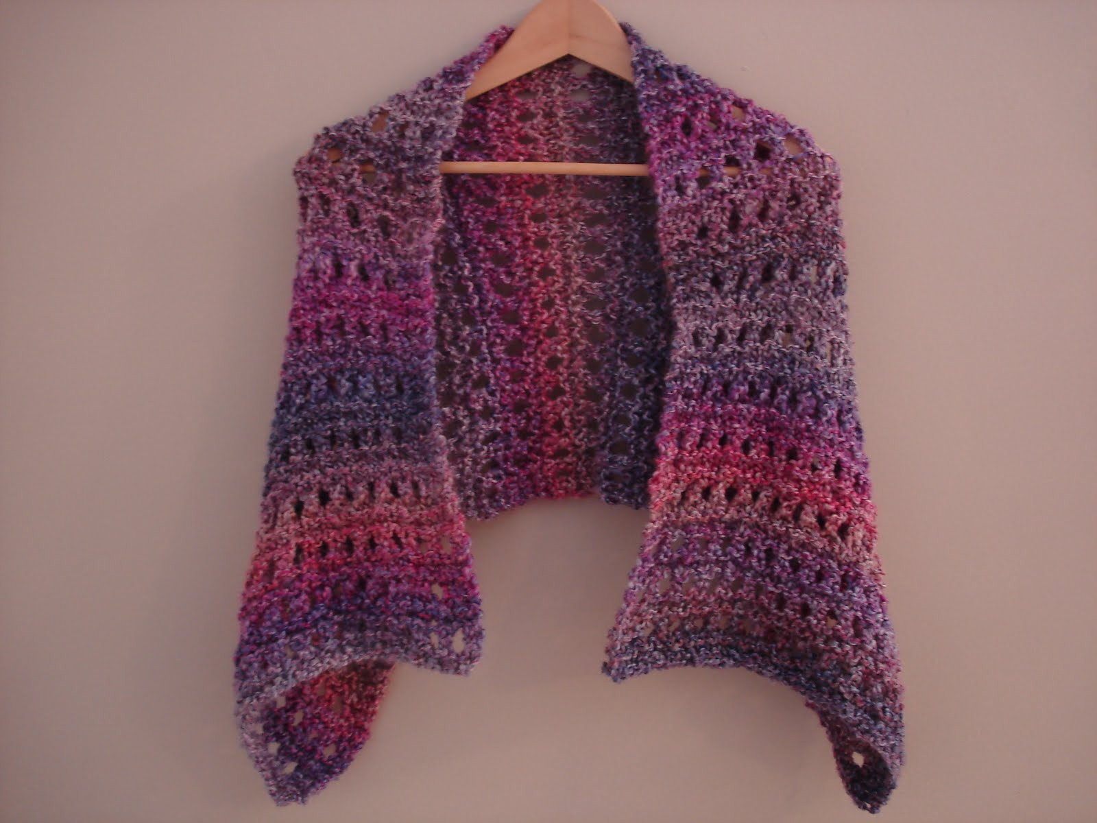 Shawl Knitting Pattern : Fiber Flux: Free Knitting Pattern...A Peaceful Shawl!
