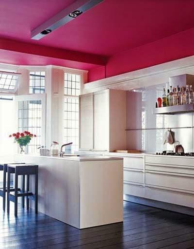 5 cambios solo con pintura cocochicdeco - Pintar techo cocina ...