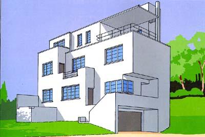 Villa Auger-Prouvost  à Ville d'Avray 1925