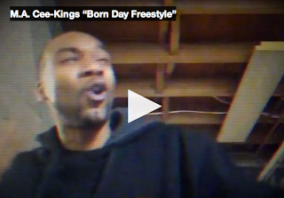 "Click Pic To Watch M.A. Cee-Kings&#39; ""Born Day Freestyle"" Video On GRYNDEHAWSE.COM"