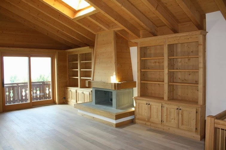 Arredo e design arredamento montagna novit per arredare - Arredamento casa montagna ...