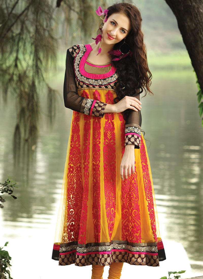 Original  Coat Style Pakistani Suit Churidarsuit Online Shopping SLSCDC1412