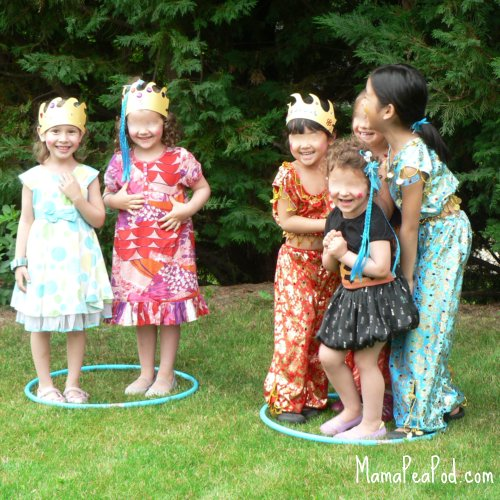 mermaids and pirates island party game