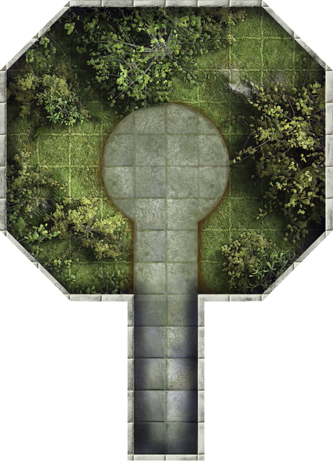 ENHANCED - ADVANCED HEROQUEST: New Dungeon Tile - The Phoenix Landing!