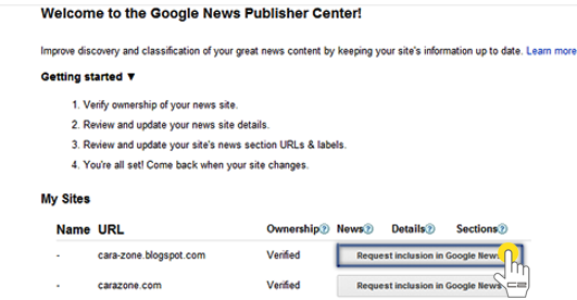 Cara Agar Blog Anda Masuk Google News