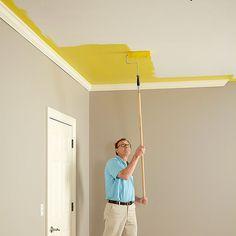 Краска для потолка Flugger