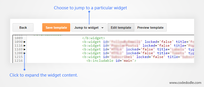 Expand Widget
