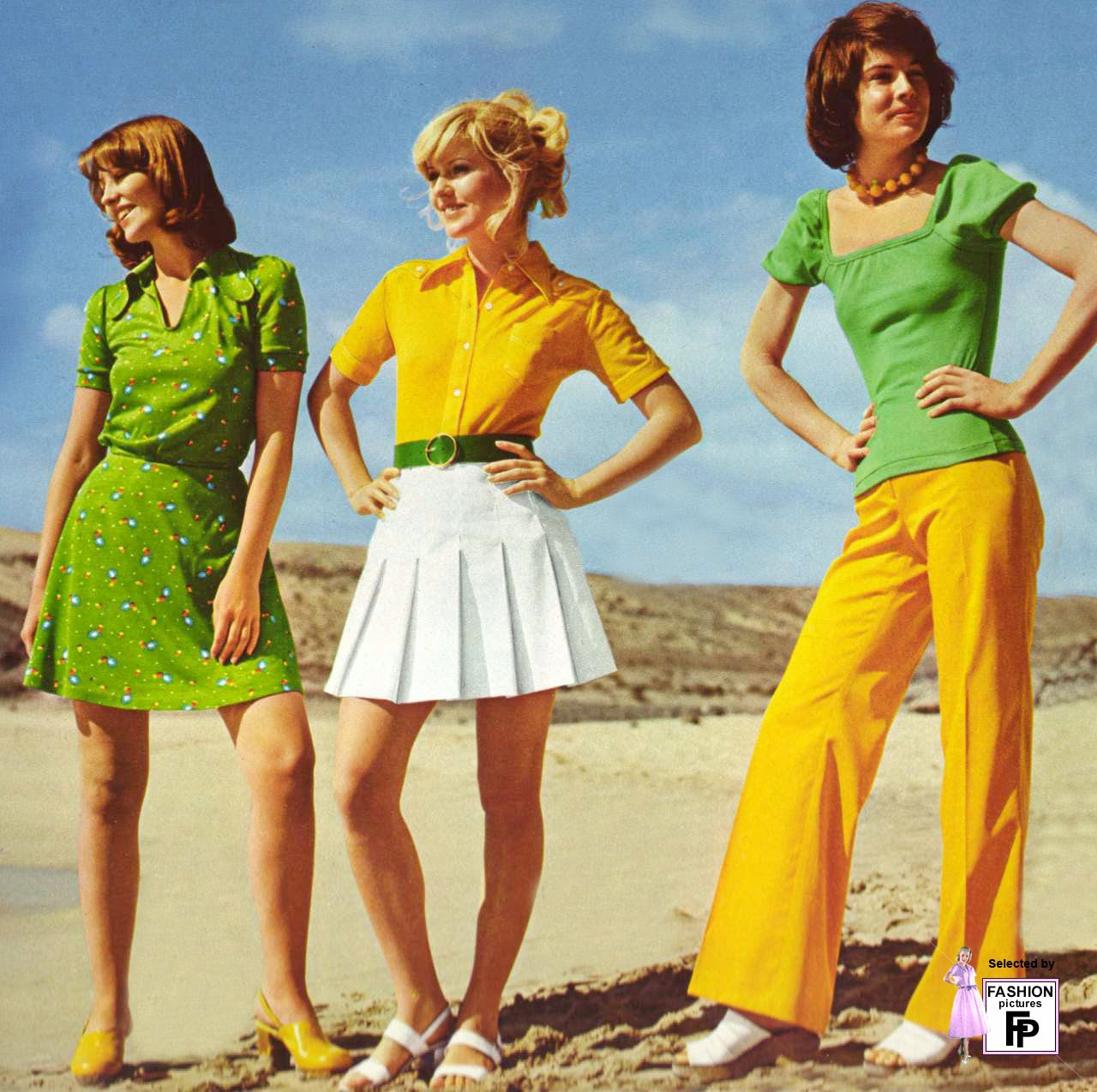 1970s Fashion Vintage everyday: 50 awesome and colorful photoshoots of