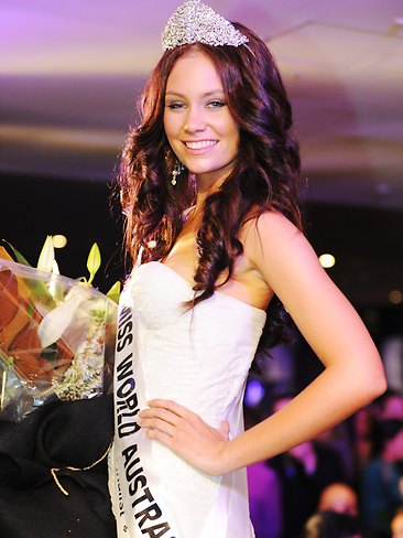 miss world australia 2011 winner amber greasley