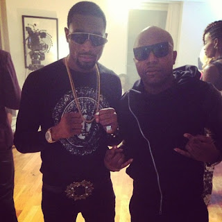See Photos from Dbanj and Tuface Video Shoot in London.