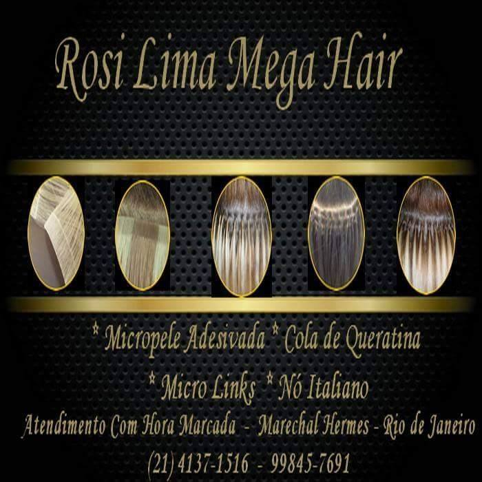 Rosi Lima Hair Designer Mega Hair