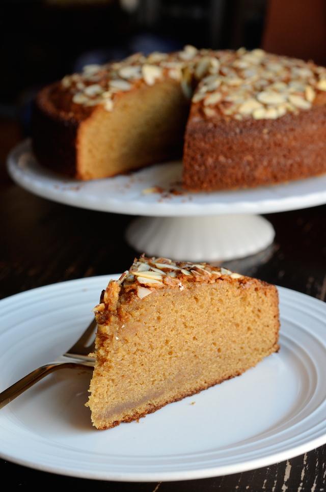 Coffee Cake Using Almond Paste