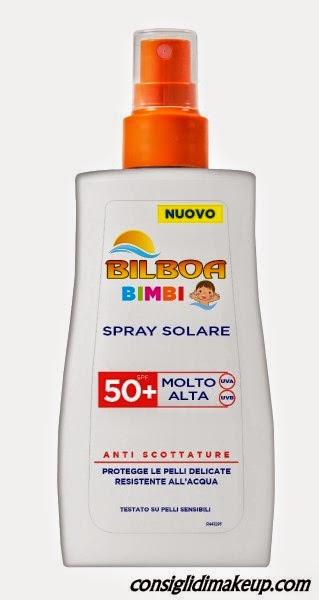 Spray Solare Bilboa Bimbi
