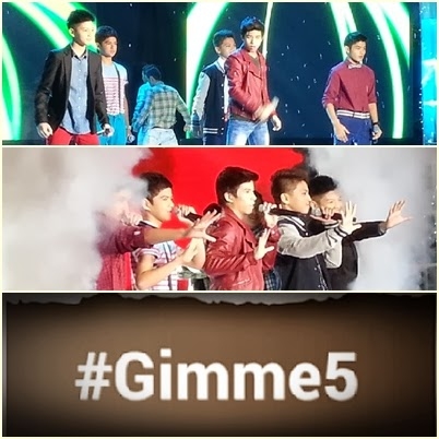Star Magic launched newest boy group Gimme 5 on ASAP 18