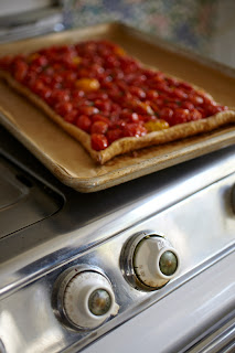herb roasted tomato tart recipe