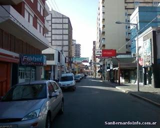 La calle principal de San Bernardo