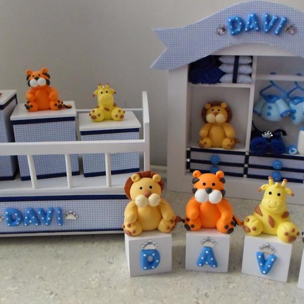 Kit de Bebe de Safari