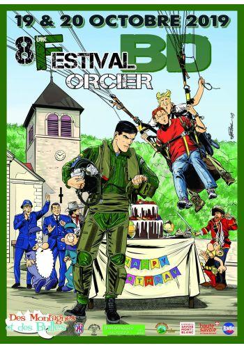 8ème édition du festival BD Des Montagnes et des Bulles