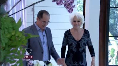 Paulo Vieira no Programa Mais Você com Ana Maria Braga