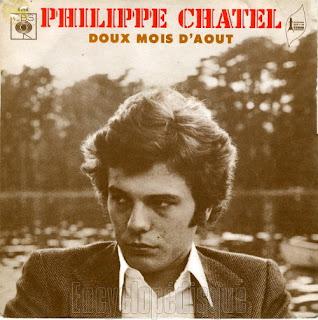 Philippe Chatel : cinq 45 tours de ses premieres annees (1970-1974)