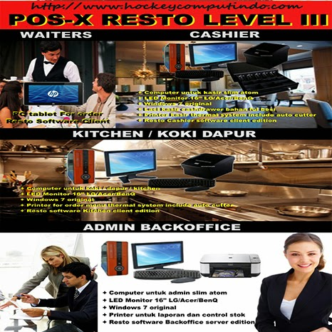 MESIN KASIR RESTORAN - SOFTWARE PROGRAM RESTORAN