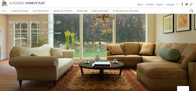 Aplikasi Software Desain Rumah Autodesk Homestyler