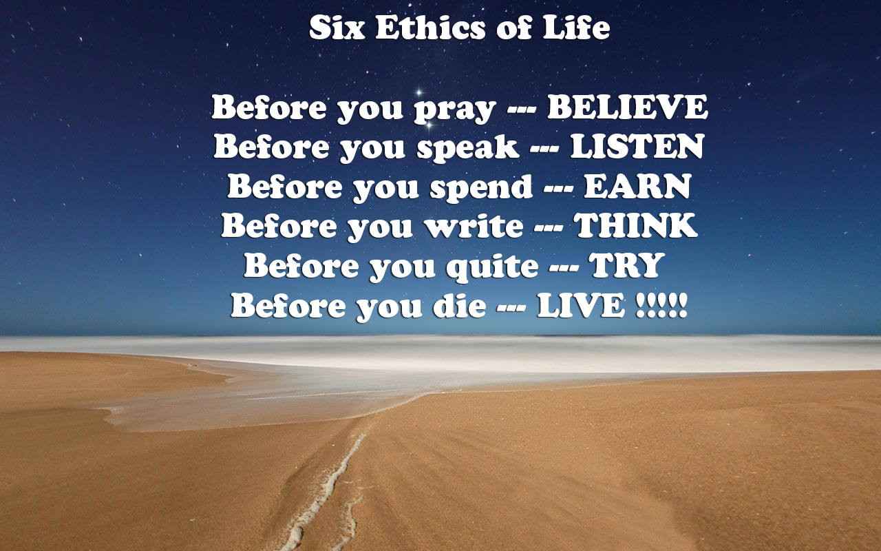 ethical quotes about life quotesgram