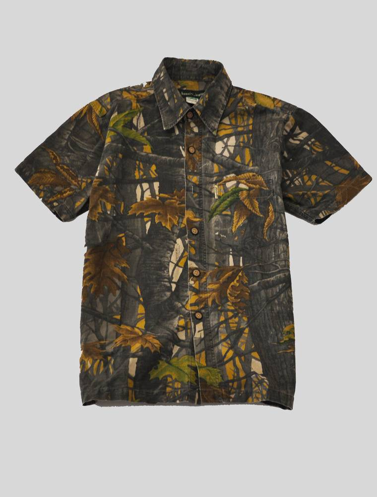 kennedystyles 44 kyc vintage camo button up shirt