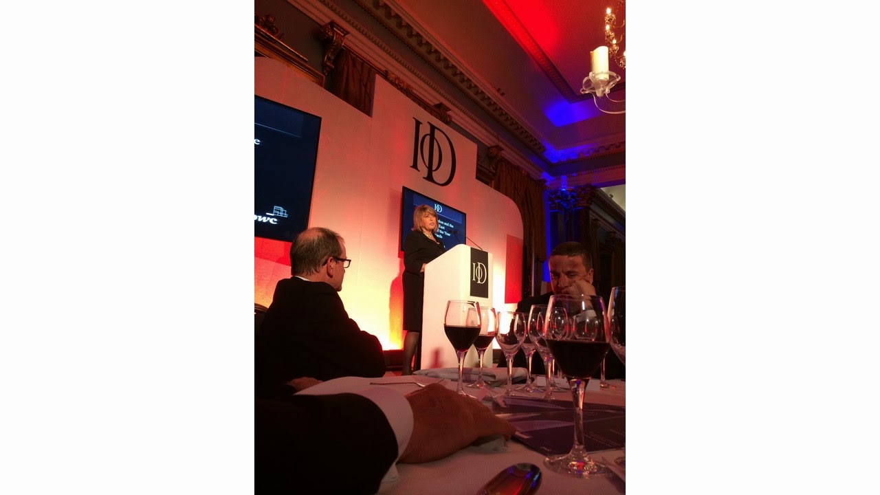 Eve Pollard - Guest speaker at the IOD London and South East Director of the Year Awards 2013