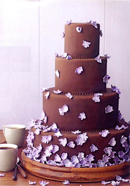 Bride By Your Side: Chocolate Wedding Cakes