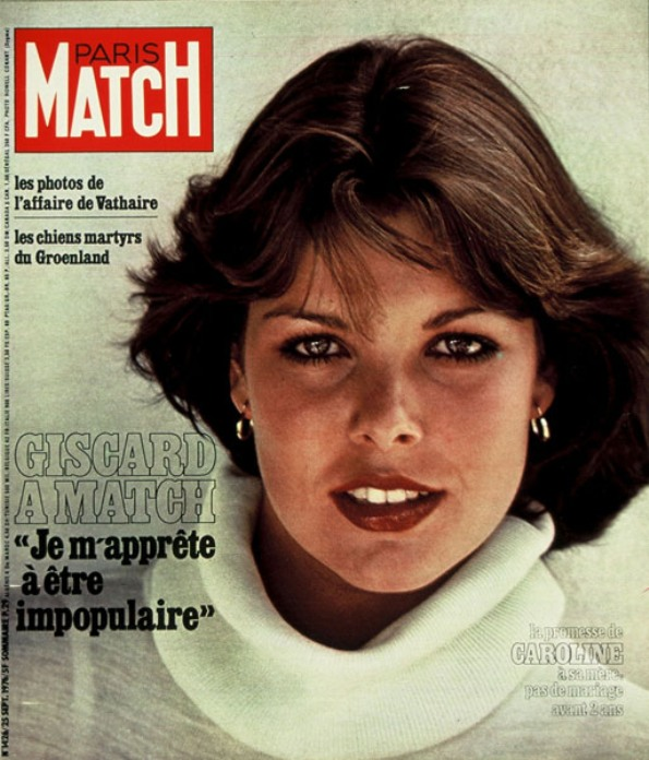 Princess Caroline On The Cover Of Paris Match Magazine