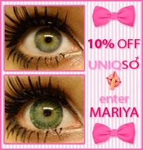 My Readers Get 10% From Uniqso Circle Lenses & Beauty. Click Below & Enter Code MARIYA @ Checkout.