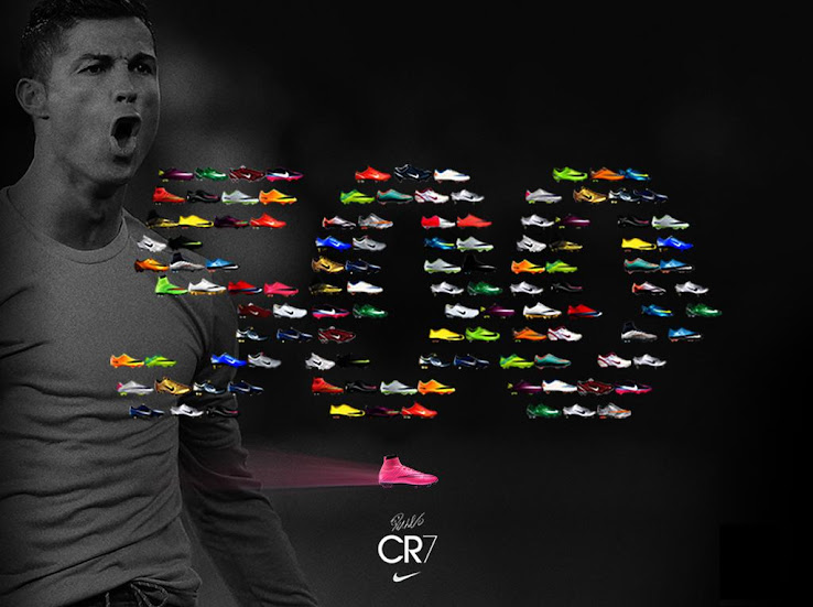 Nike celebra los 500 goles de Cristiano Ronaldo