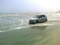 mujhappilangad drive in beach kerala
