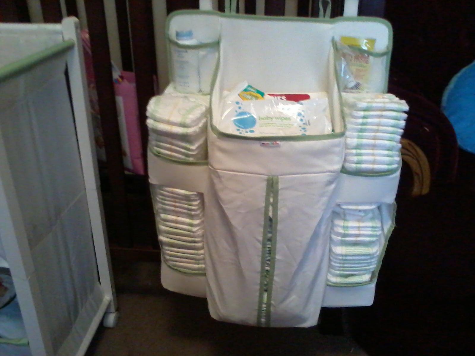 Divas Mommy Blog Review Munchkin Diaper Change Organizer