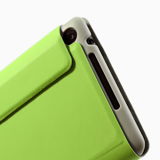 Tri-Fold Folio Stand Leather Case Cover for Asus Google Nexus 7(2013) II 2nd Generation - Green