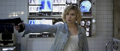 New movie clips for Lucy starring Scarlett Johansson