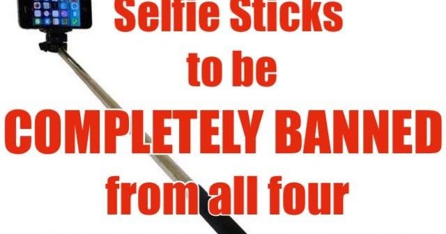 happily ever disney selfie sticks to be completely banned from all four walt disney world parks. Black Bedroom Furniture Sets. Home Design Ideas