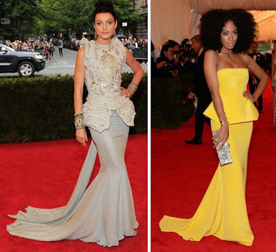 Met Ball 2012 Stam Dior Knowles Roy