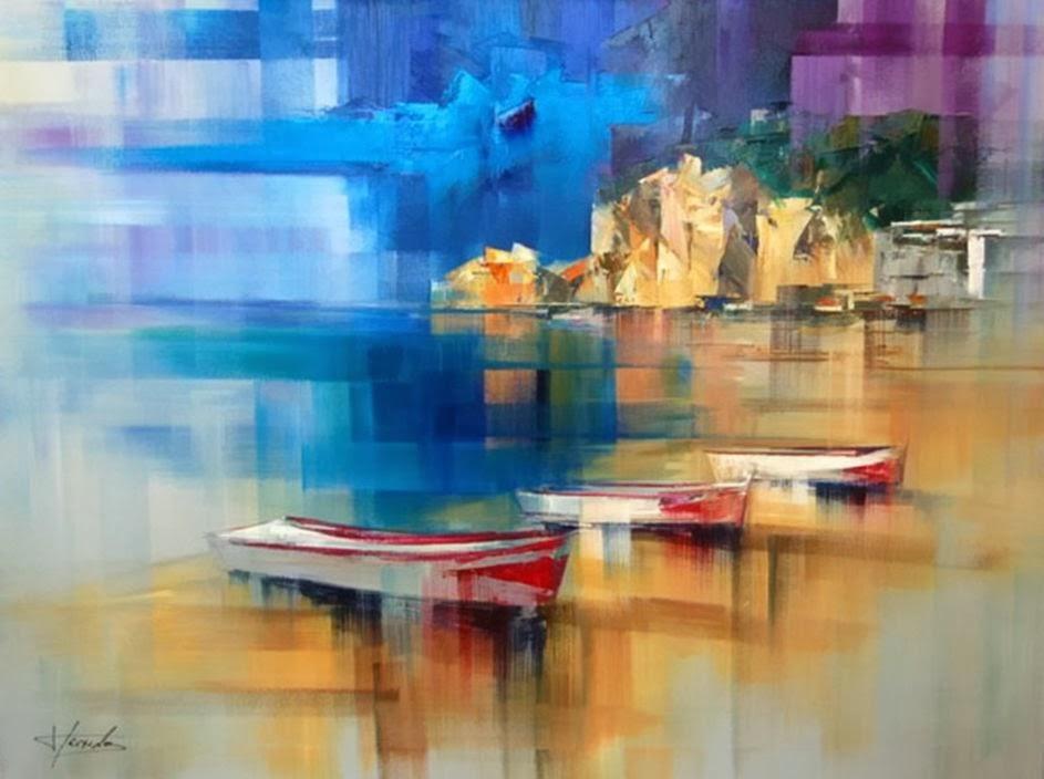 Pejzaži u slikarstvu... - Page 2 Landscape+Paintings+by+Josep+Teixido+%288%29