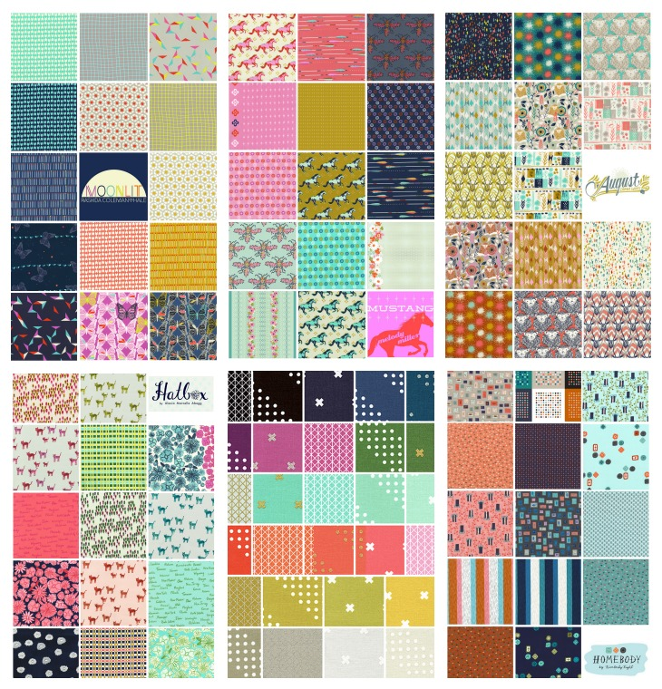 Cotton + Steel Fabric Collections & Basic Collections #cotton+Steel #fabric
