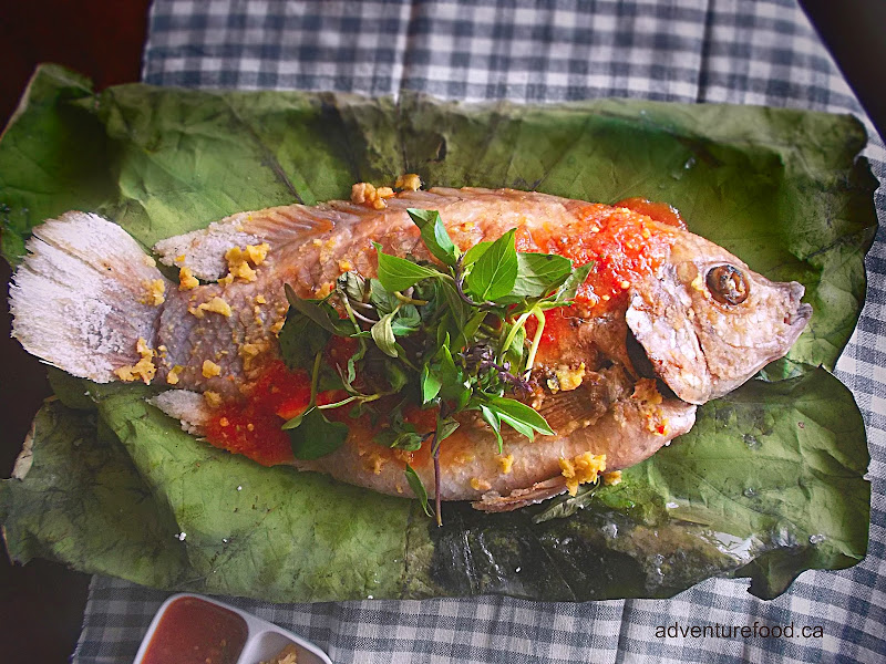 Grilled Fish From the Tonlé Sap