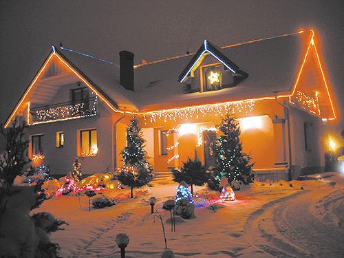 Wojtap Porządek W Kablach świąteczne Oświetlenie Domu Czyli
