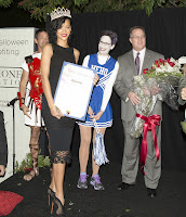 Rihanna crowned as the Queen of the West Hollywood Halloween Carnival 2012