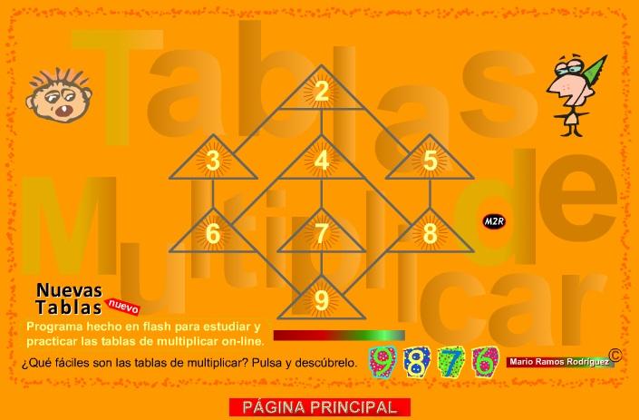 JUEGOS PARA PRACTICAR LAS TABLAS DE MULTIPLICAR