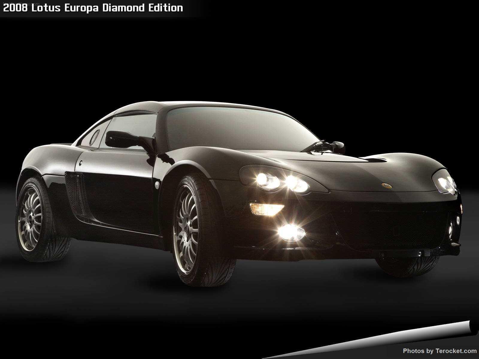 Hình ảnh siêu xe Lotus Europa Diamond Edition 2008 & nội ngoại thất