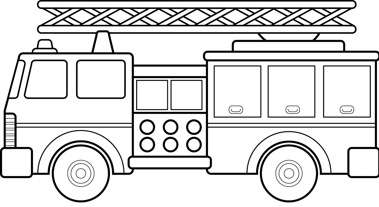 Coloring pictures of cars truck tractors - Vehicles Coloring Pages