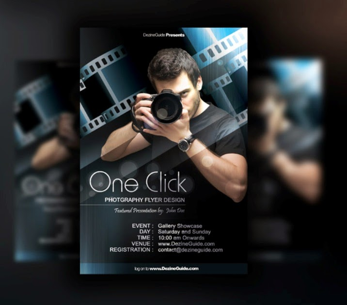 Free Photography Flyer/Poster Template
